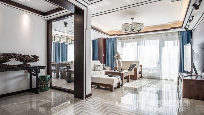 300m²现代法式风格别墅装修设计案例