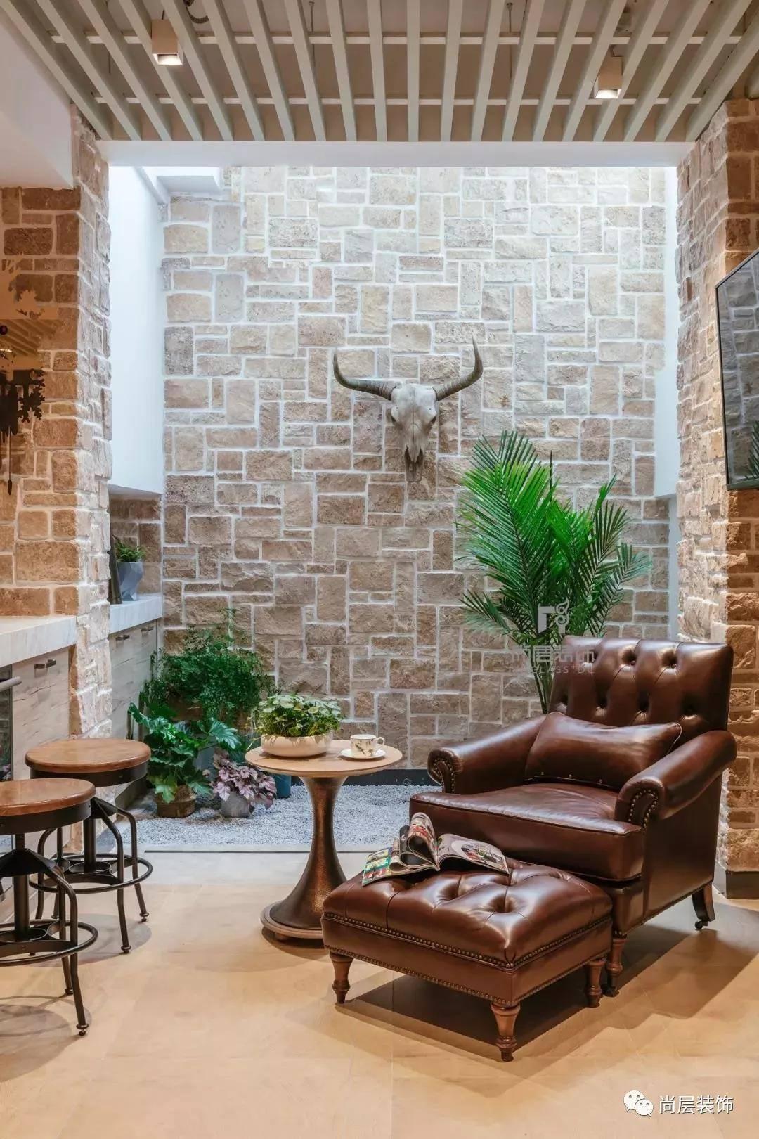 碧提半岛现代美式风格休闲室