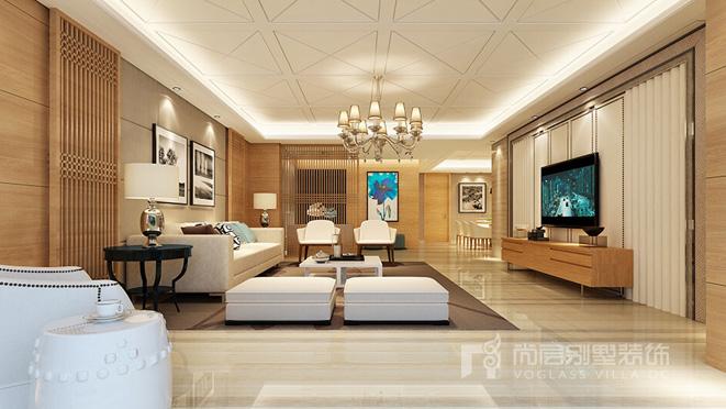 雅居乐滨江国际现代简约风格设计效果图