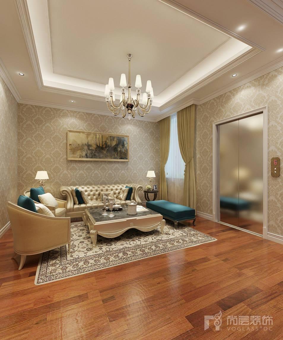 设计师选取白色为主色调,床上的物品和两侧的床头柜也是用了相同白色