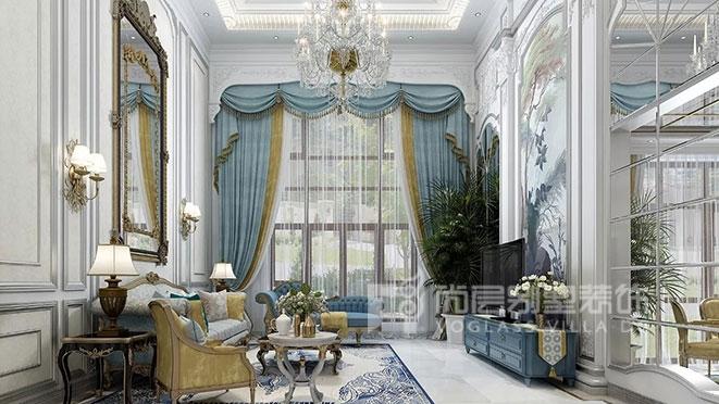 法式风格别墅装修案例