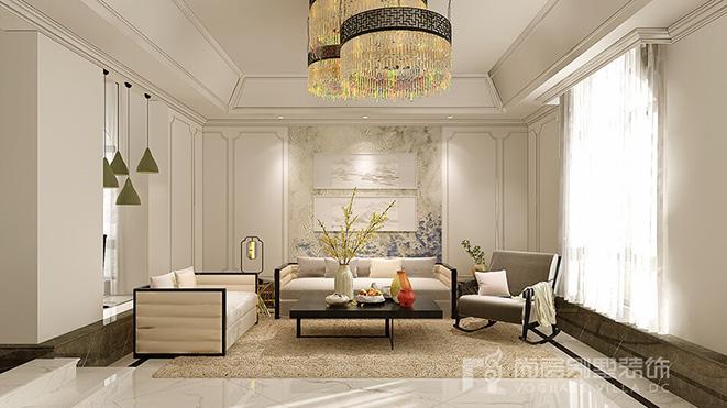 400平面新中式别墅装修案例