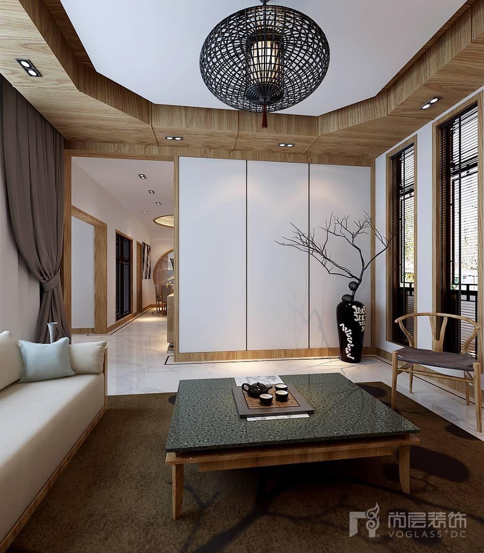 图赏:这感觉心动的就是,新中式别墅别墅装修颜值实在太高风格v感觉项目策划图片