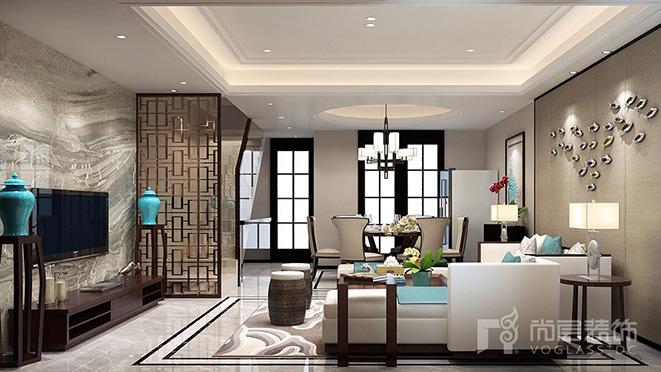 230平米新中式风格别墅装修设计案例