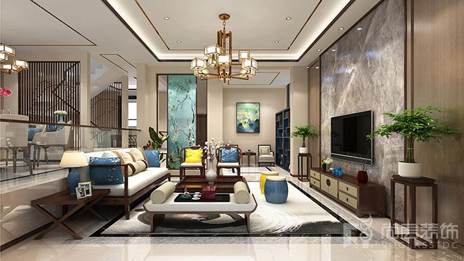 400m²新中式风格别墅装修设计