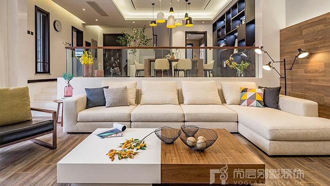 320平米现代风格别墅装修设计