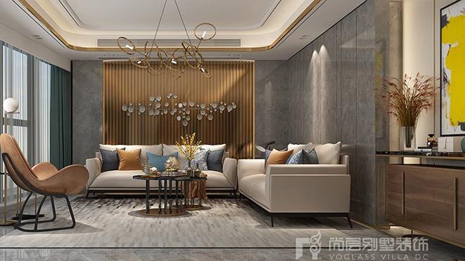 220m²新奢风格别墅装修设计案例