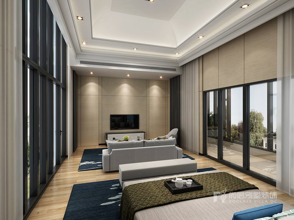 新中式风格别墅设计效果图,这才是中国人应该住的房子