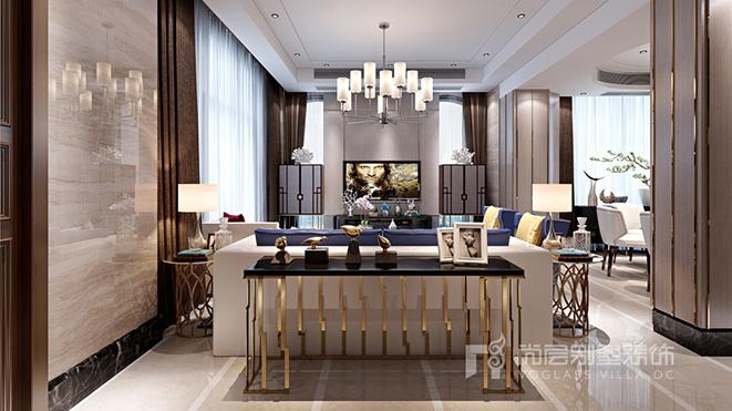 450平米现代简约风格别墅装修案例