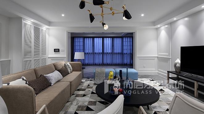 300m² 现代风格别墅装修设计