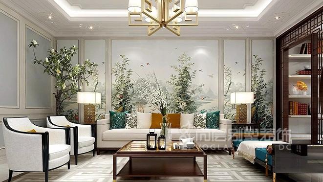 420平米新中式风格别墅装修设计