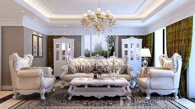 新古典风格别墅装修案例