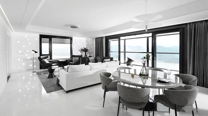 500平方米现代风格别墅装修设计