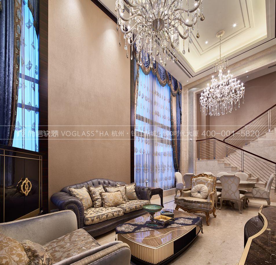 别墅客厅软装设计的三大要素