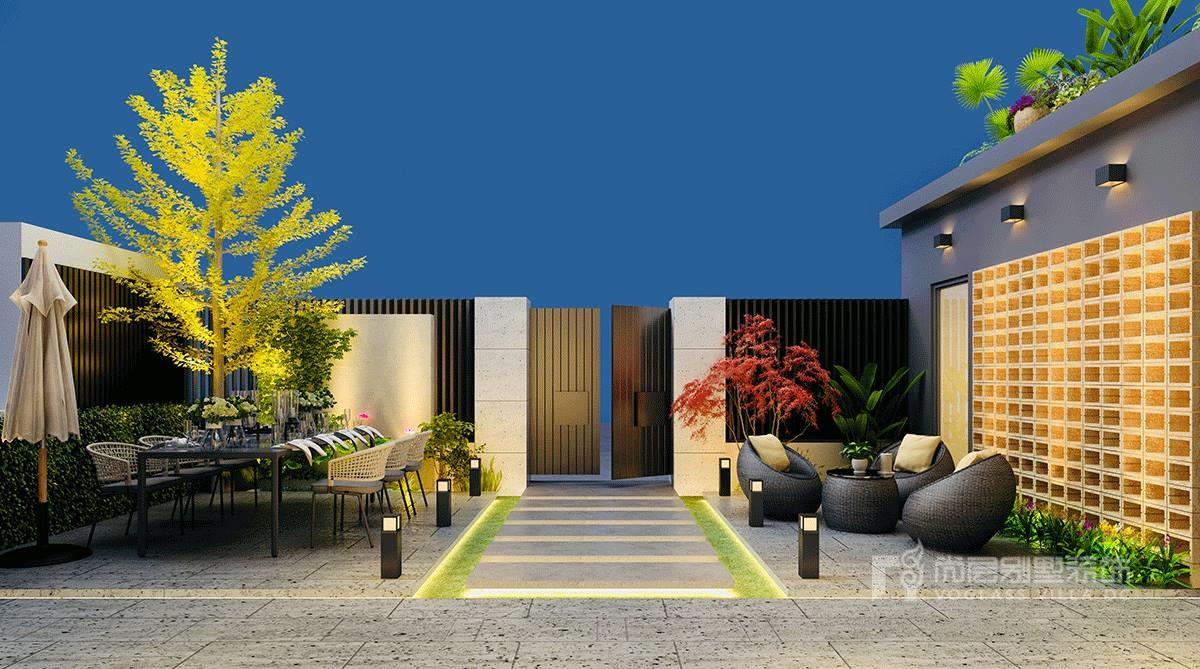 500现代轻奢别墅别墅装修风格,简于形,奢于心,用心缔造简奢之宅纵横案例蚌埠图片