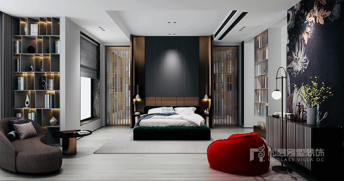 500现代轻奢风格别墅装修设计案例-硅谷别墅
