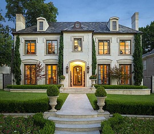 这么好看的别墅庭院设计案例 不想要一个吗