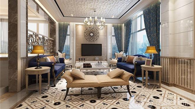 350㎡欧式风格别墅装修设计案例