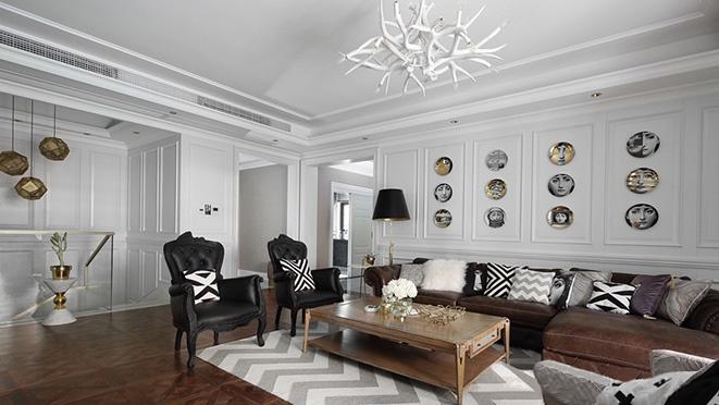 560平米轻奢风格别墅装修案例