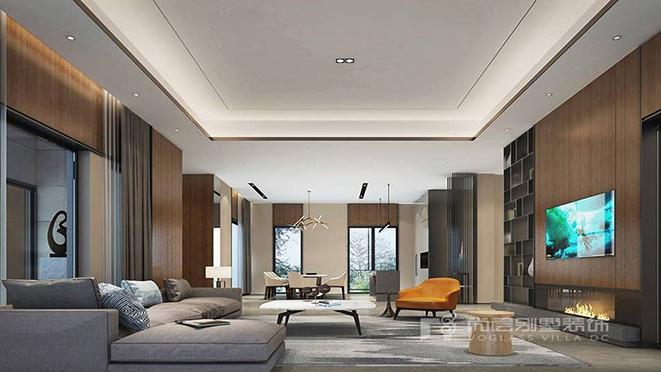 200㎡现代风格别墅装修设计案例