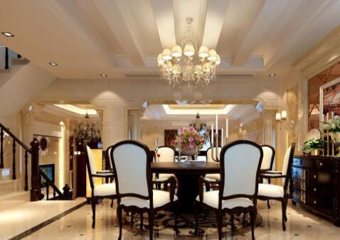 欧式豪华别墅装修设计要点介绍