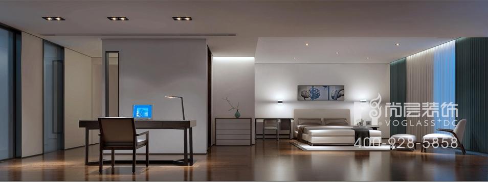 现代园墅别墅装修极简风格450平米别墅装修设计案例