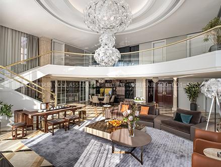 别墅软装设计的重点是装饰风格和色彩搭配