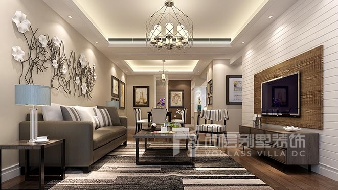 欧式风格别墅装修设计案例