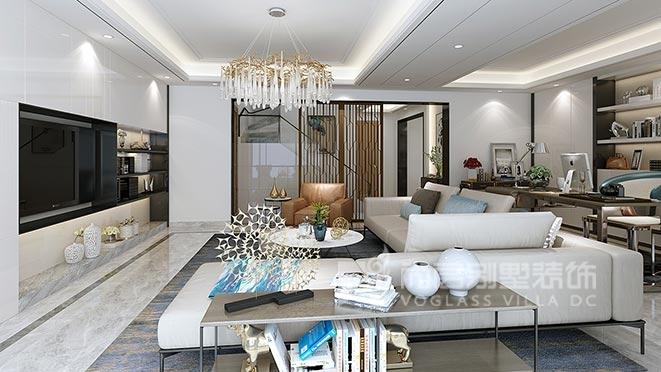 340平米现代简约风格别墅装修设计案例