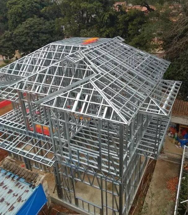 轻钢别墅:节能环保新型绿色建筑