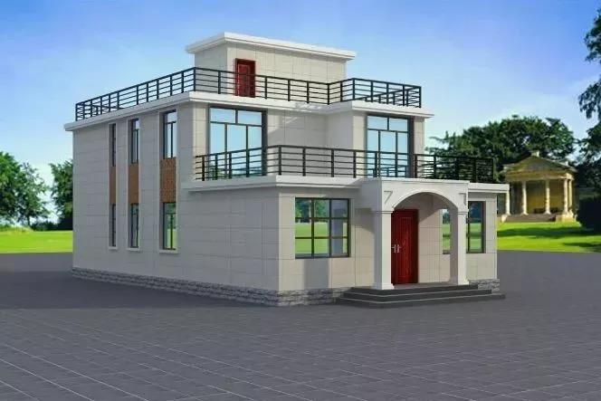 这5套平屋顶自建别墅值得收藏!