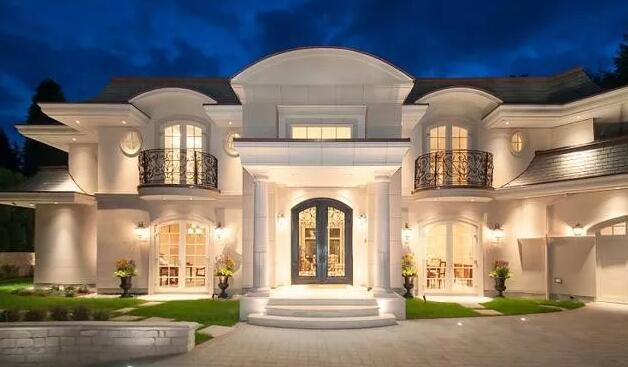 12栋法式别墅设计图纸带回家