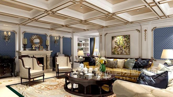 550㎡欧式风格别墅装修设计案例