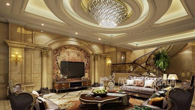 700㎡欧式风格别墅装修设计案例