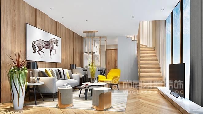 2000㎡轻奢风格别墅装修设计案例——天禧样板房